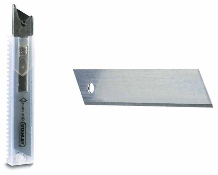 Лезвия для ножей Stanley, сегментные, 18 мм, 10 шт недорого