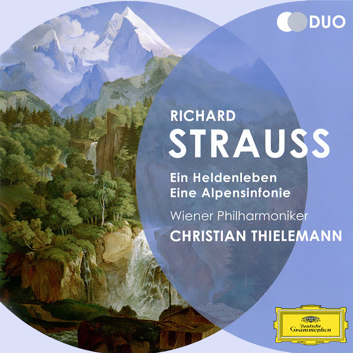 цена на Кристиан Тильманн,Wiener Philharmoniker Christian Thielemann, Wiener Philharmoniker. Strauss. Ein Heldenleben. Eine Alpensinfonie (2 CD)