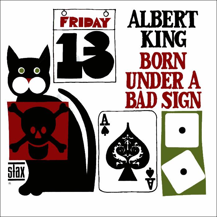 Альберт Кинг Albert King. Born Under A Bad Sign