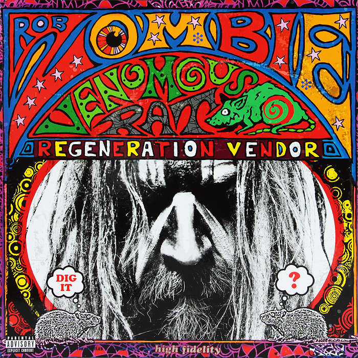купить Роб Зомби Rob Zombie. Venomous Rat Regeneration Vendor (LP) онлайн