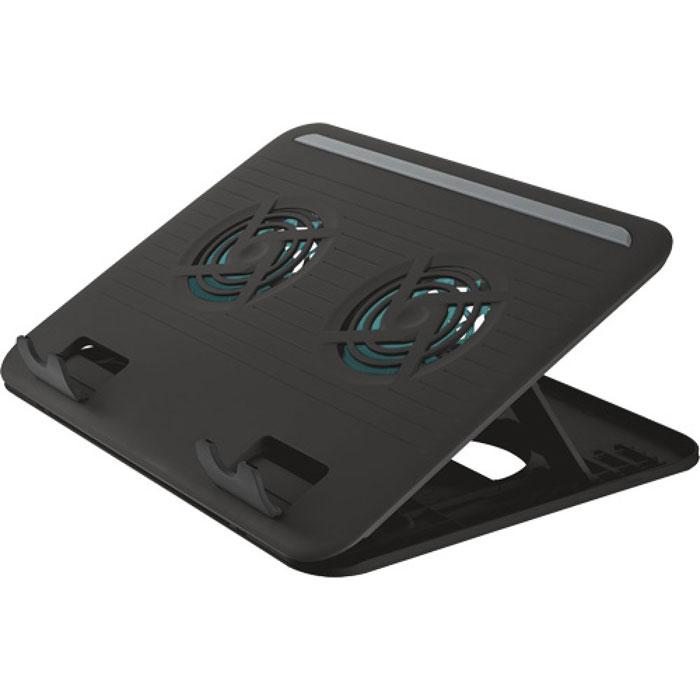Trust Cyclone Notebook Cooling Stand охлаждающая подставка для ноутбука цена