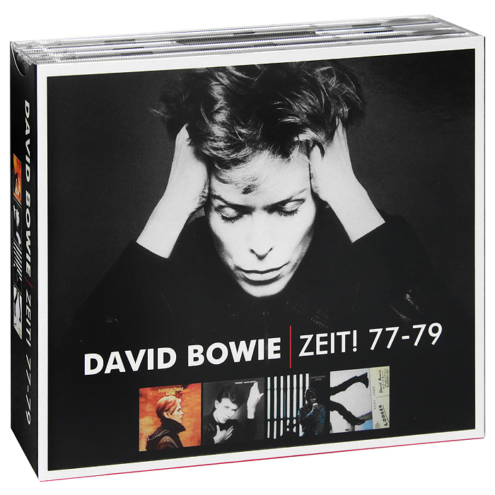 Дэвид Боуи,Брайан Ино,Карлос Аломар David Bowie. Zeit! 77 - 79 (5 CD) дэвид боуи david bowie the document cd dvd