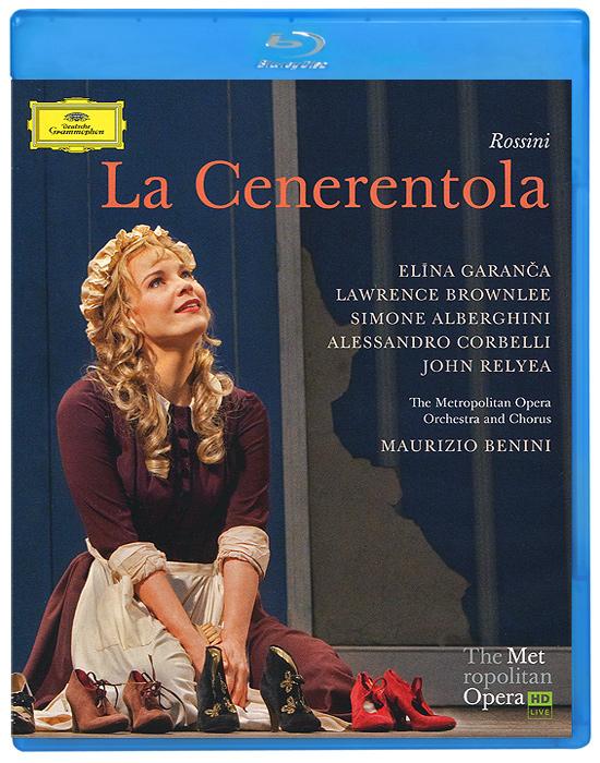 Rossini, Maurizio Benini: La Cenerentola (Blu-ray) rossini maurizio benini la cenerentola 2 dvd
