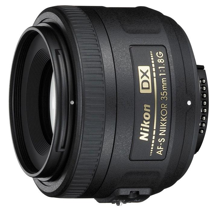 лучшая цена Объектив Nikon AF-S Nikkor DX 35mm f/1.8G