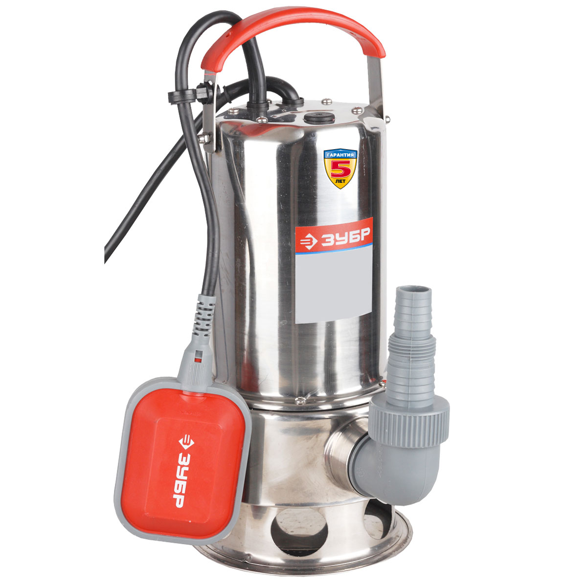 ЗУБР ЗНПГ-550-С насос погружной для грязной воды, 550Вт насос погружной зубр знпг 550