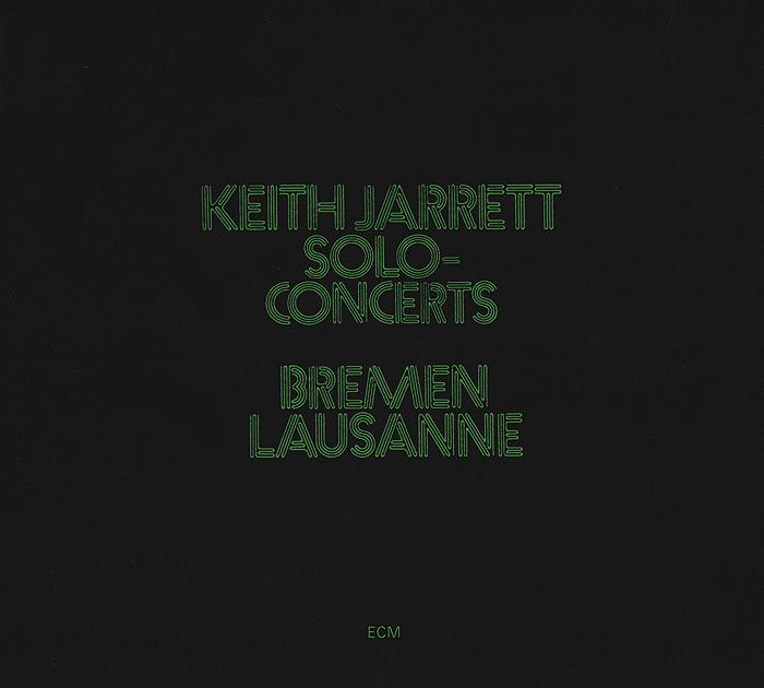 Кейт Джарретт Keith Jarrett. Solo Concerts (2 CD)