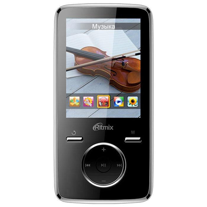 MP3 плеер Ritmix RF-7650 8GB, Black