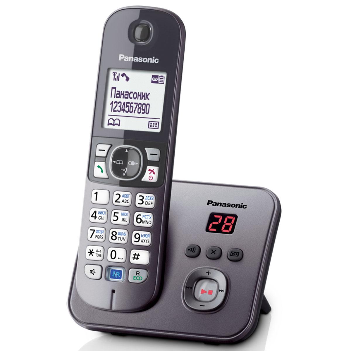 Радиотелефон с автоответчиком Panasonic KX-TG6821 RUM