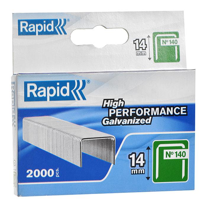 Скобы для степлера Rapid 140/14 2М Proline, 2000 шт скобы для степлера rapid 14мм тип 140 2000шт proline 11915631