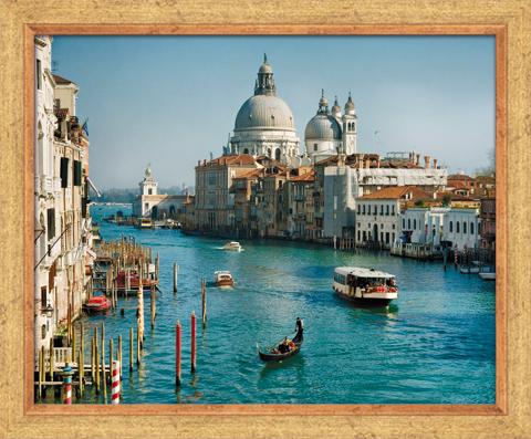 Постер в раме Италия, 40 x 50 см арт постер в багете на полустанке в г казанцев 27 см x 40 см
