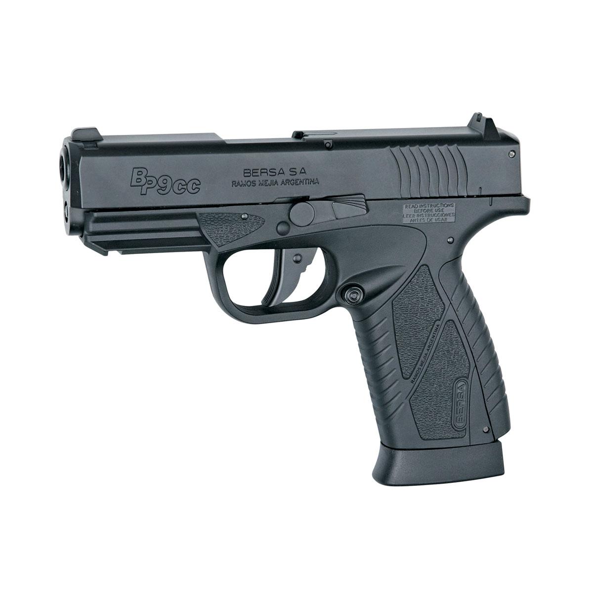 "ASG ""Bersa BP9CC"" пистолет пневматический CO2, NBB, 4,5 мм, цвет: Black (17300)"