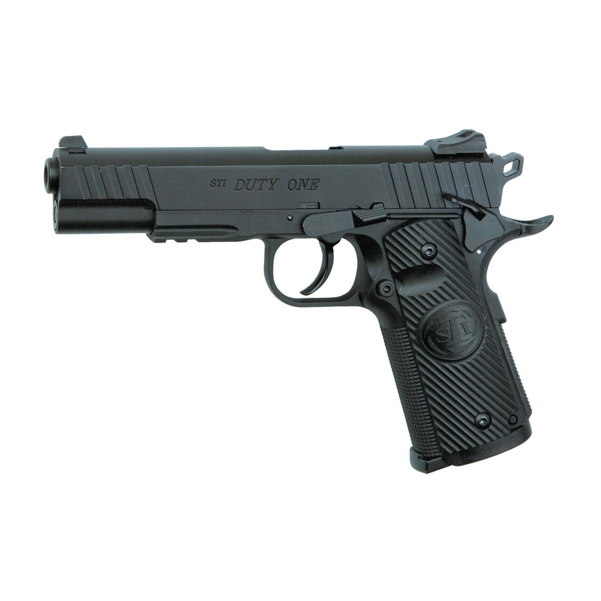 ASG STI Duty One пистолет пневматический, Blowback, CO2, 4,5 мм, цвет: Black (16732) цена