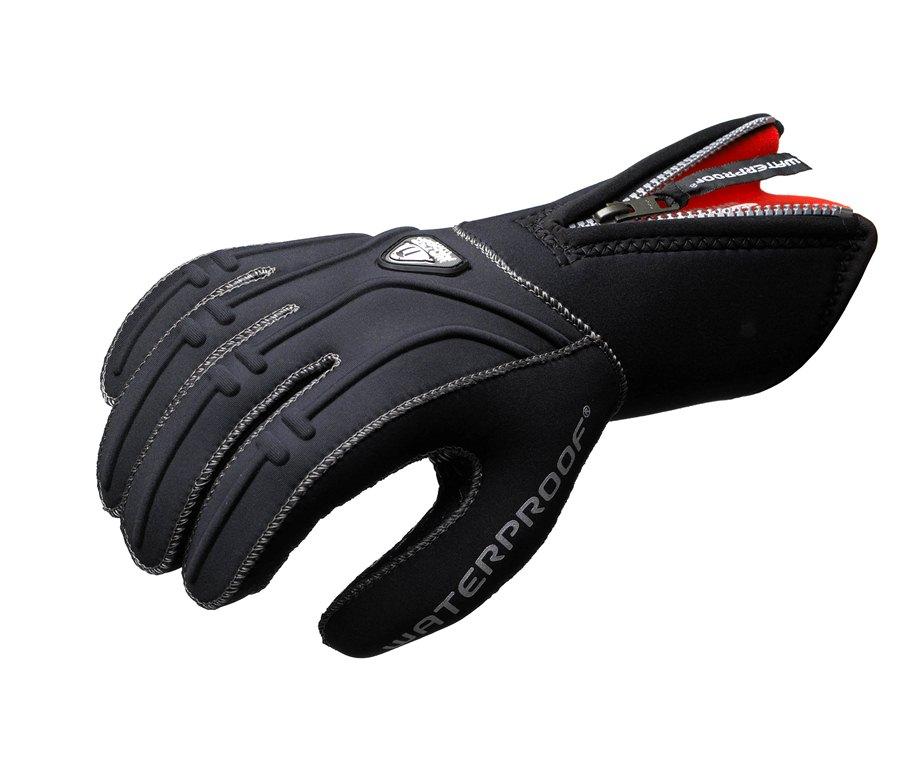 Неопреновые перчатки Waterproof G1, 5-палые, толщина: 5 мм. Размер L стержень для гелевой ручки g1 синий 0 5 мм bls g1 5 l