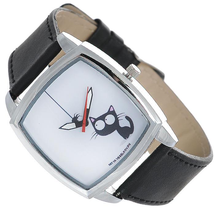 Часы Mitya Veselkov Кошка и паучок. CH-23 все цены