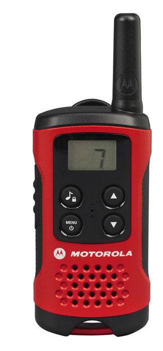 Радиостанция Motorola TLKR T40, 2 шт радиостанция motorola tlkr t80ext комплект из двух радиостанций mt125