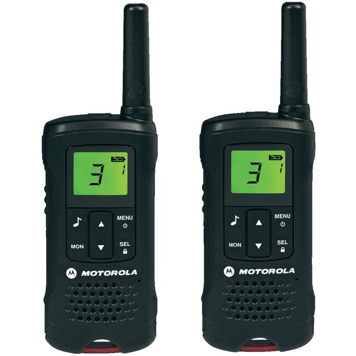 Motorola TLKR T60 радиостанция, 2 шт рация motorola tlkr t61 цвет черный