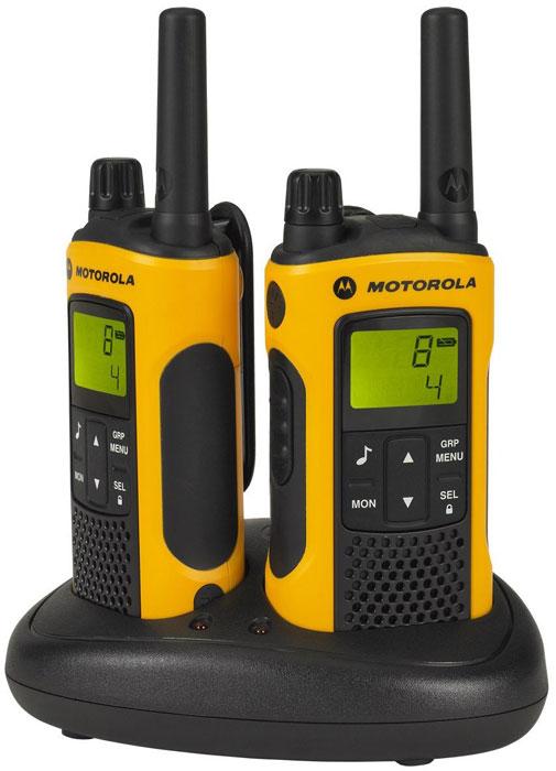 Motorola TLKR-T80EXT радиостанция, 2 шт радиостанция motorola tlkr t80ext комплект из двух радиостанций mt125