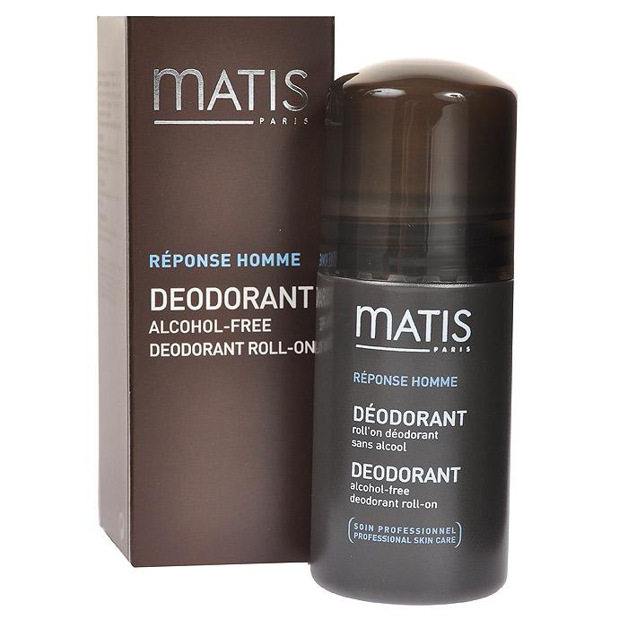 Matis Дезодорант шариковый, для мужчин, 50 мл l occitane свежесть дезодорант шариковый свежесть дезодорант шариковый