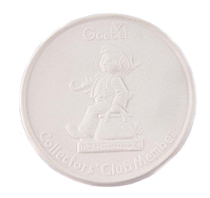 Настольная медаль члена