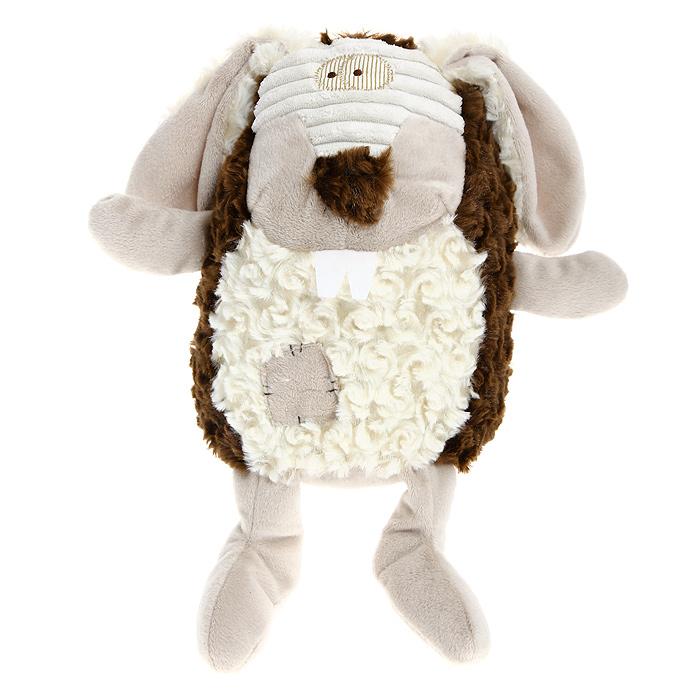 Мягкая игрушка Jackie Chinoco Коричневый кролик, 27 см