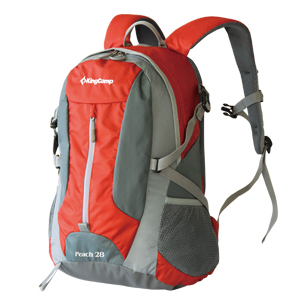 Рюкзак городской KingCamp Peach 28L, цвет: красный, серый рюкзак городской kingcamp peach 28l цвет красный серый