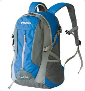 Рюкзак городской KingCamp Peach 28L, цвет: синий, серый рюкзак городской kingcamp peach 28l цвет красный серый