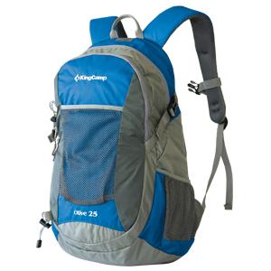 Рюкзак городской KingCamp Oliv 25L, цвет: синий рюкзак спортивный columbia essential explorer 25l цвет черный 25 л
