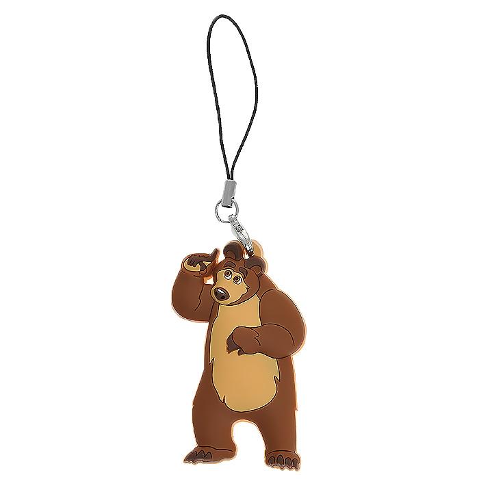 Подвеска для мобильного телефона Маша и медведь Медведь свеча маша и медведь цифра 1