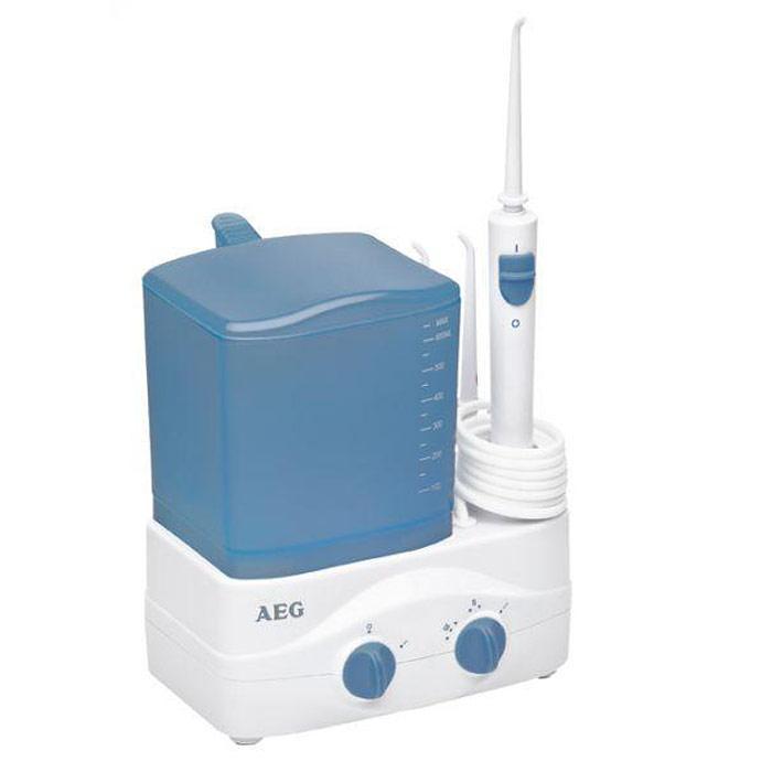 AEG MD 5613, White Blue ирригатор радиочасы aeg mrc 4145 f white