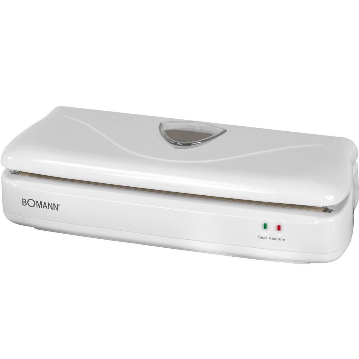 Вакуумный упаковщик Bomann FS 1014 CB, White вакуумный упаковщик redmond rvs m020 серебристый черный
