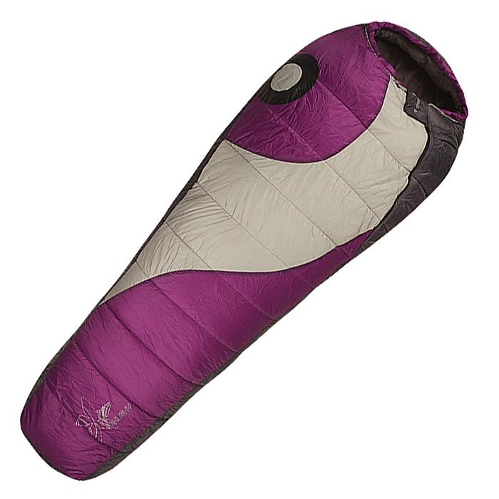 Спальный мешок-кокон Husky Apollo Ladies, левосторонняя молния, цвет: фиолетовый husky apollo ladies 20