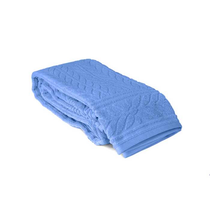 Полотенце махровое Tete-a-Tete, цвет: голубой, 50 х 90 см Т-МП-7161-01-06 набор полотенец tete a tete сердечки цвет голубой 50 х 90 см 2 шт