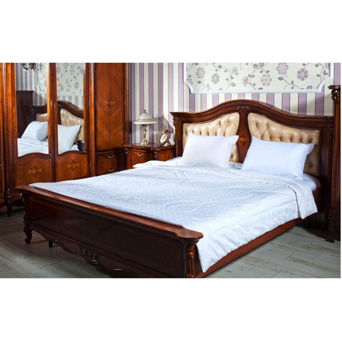 "Одеяло ""Silk"" 200 х 220 см, белый"