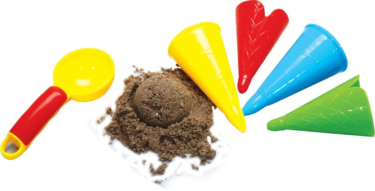 Фото - Набор для песочницы Gowi Формочки-мороженое, 5 предметов, цвет: в ассортименте gowi набор игрушек для песочницы ручки и ножки 5 предметов