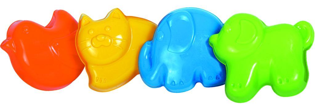 Фото - Набор формочек для песочницы Gowi Анна, 4 шт, в ассортименте gowi набор игрушек для песочницы ручки и ножки 5 предметов