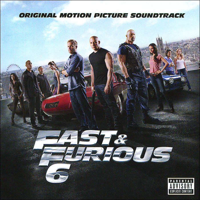 Fast & Furious 6. Original Motion Picture Soundtrack godzilla 2000 millennium original motion picture soundtrack