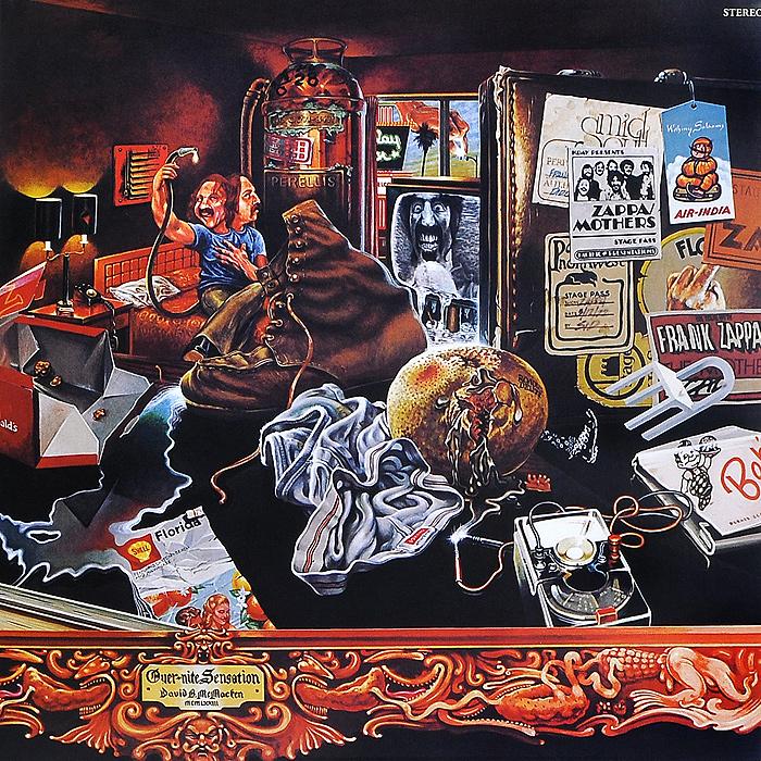 лучшая цена Фрэнк Заппа Frank Zappa. Over-Nite Sensation (LP)