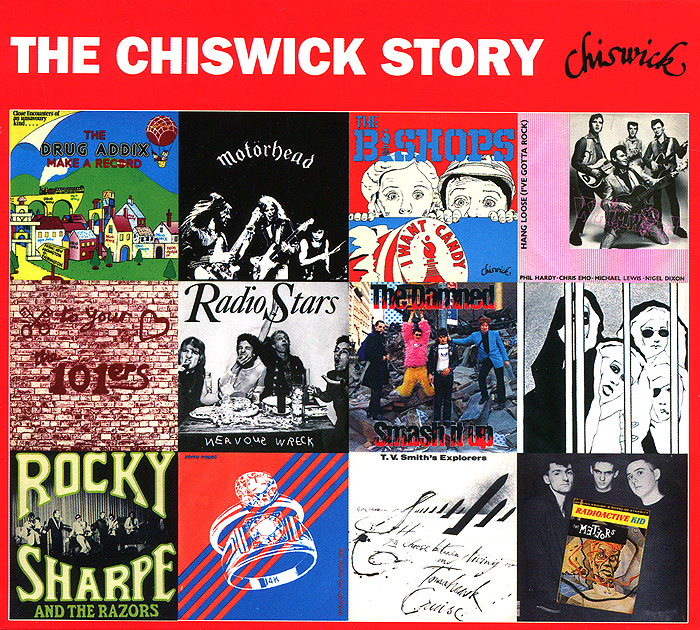 Little Bob Story,Radio Stars,Motorhead,Riff Raff,The Damned,The Meteors,Роки Шарп The Chiswick Story (2 CD) milky disco three to the stars 2 cd