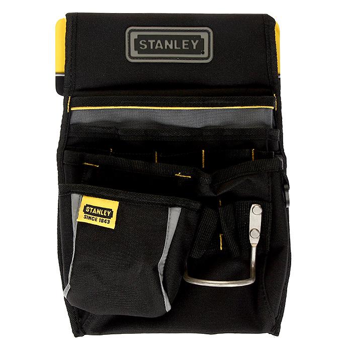 Сумка поясная для инструмента Stanley Basic Tool Pouch, цвет: черный