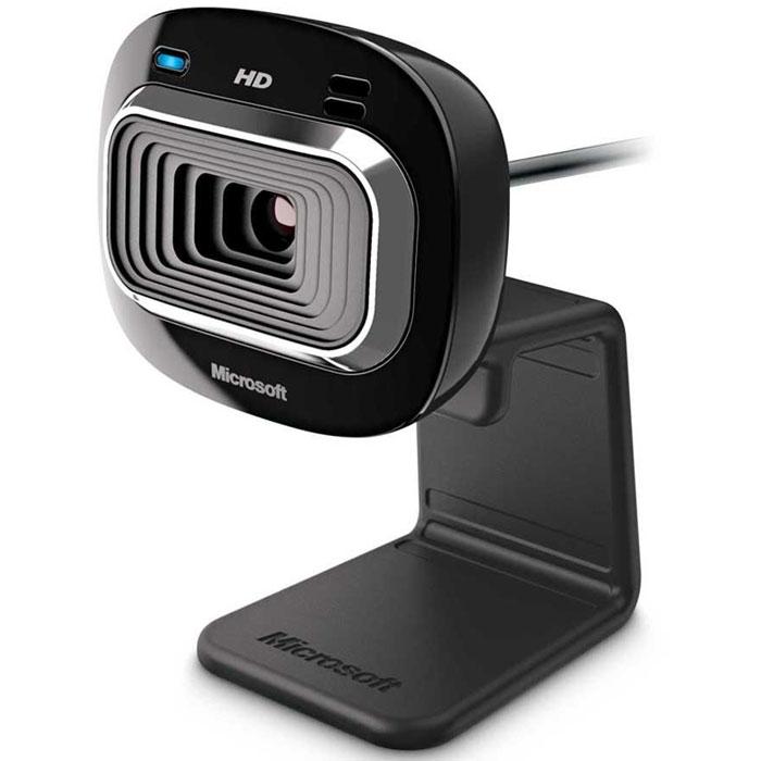 Web-камера Microsoft Lifecam HD-3000 (T3H-00013) с веб камеры записать видео