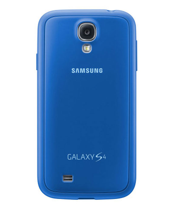 Фото - Samsung EF-PI950 чехол для i9500 S4, Blue protective penguin style silicone back case for samsung galaxy s4 i9500 blue white