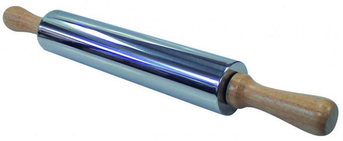 Скалка Regent Inox из нержавеющей стали скалка regent inox silicone 43 см