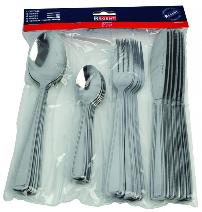 Набор столовых приборов Regent Inox Eco, 24 предмета набор столовых ножей regent о2