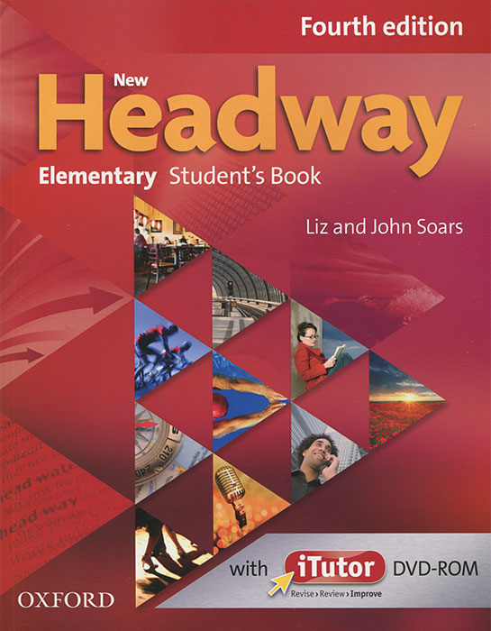 New Headway: Elementary Student's Book (+ DVD-ROM) шина pirelli p zero rosso asimmetrico 285 45 r19 107w