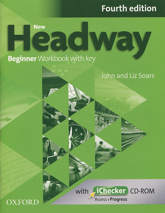 New Headway: Beginner Workbook with Key (+ CD-ROM) speakout starter workbook with key cd rom