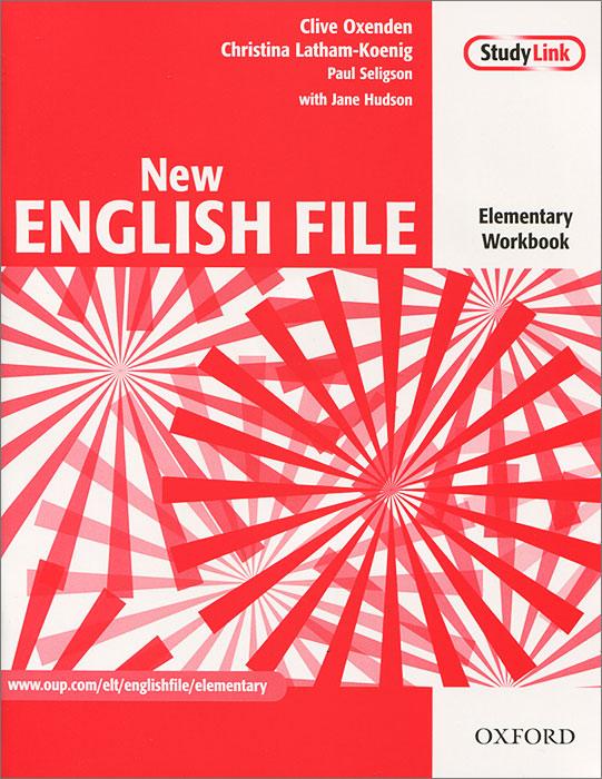 New English File: Elementary Workbook (+ CD-ROM)