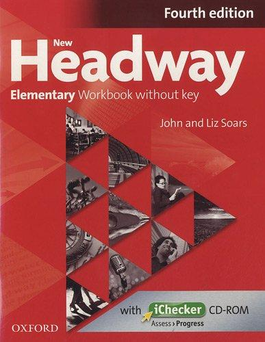 New Headway Elementary: Workbook without Key (+ CD-ROM) face2face elementary workbook without key