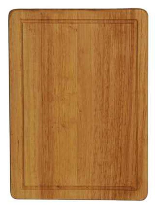 Доска разделочная Regent Inox, из гевеи, 40 х 25 х 1,5 см доска разделочная без ручки regent 93 bo 2