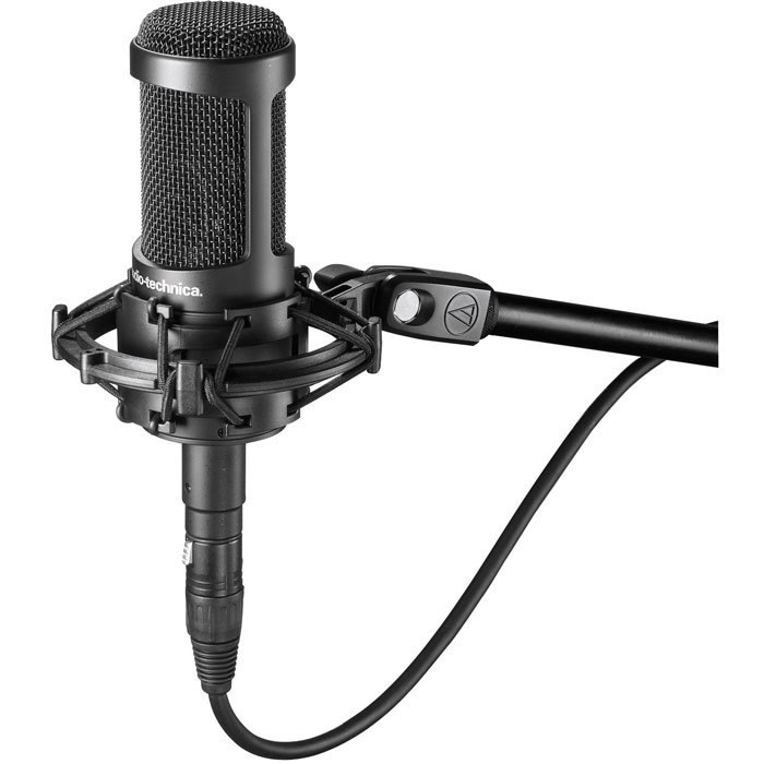 Audio-Technica AT2035 студийный микрофон цена и фото