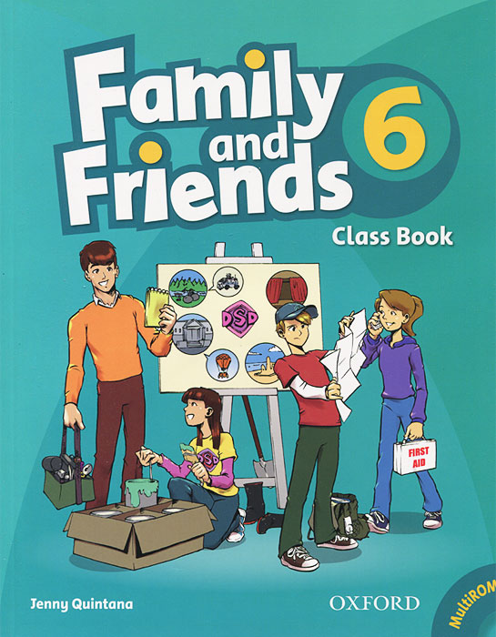 Family and Friends 6: Classbook (+ CD-ROM)